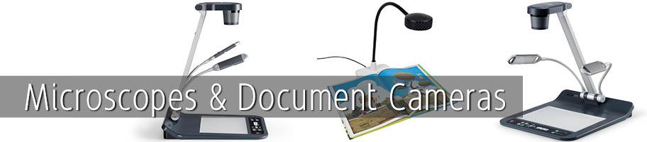 Microscopes & Document Cameras