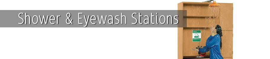 Shower & Eye Wash Stations