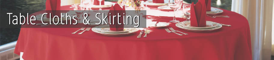 Table Cloths & Skirts